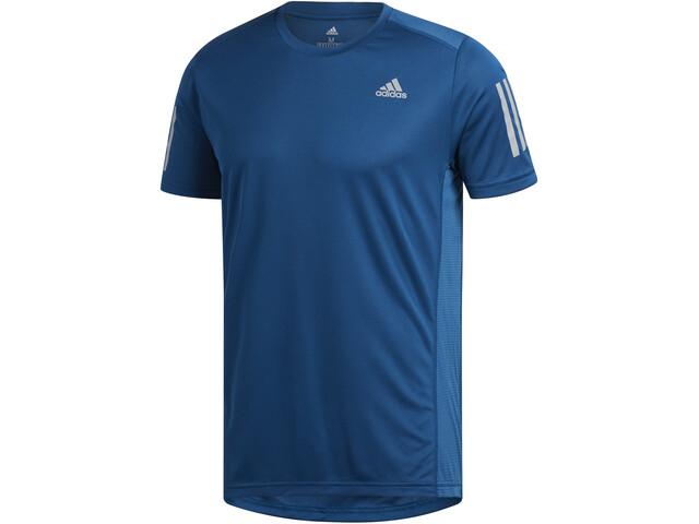 adidas Own The Run Koszulka Mężczyźni, legend marine/reflective silver
